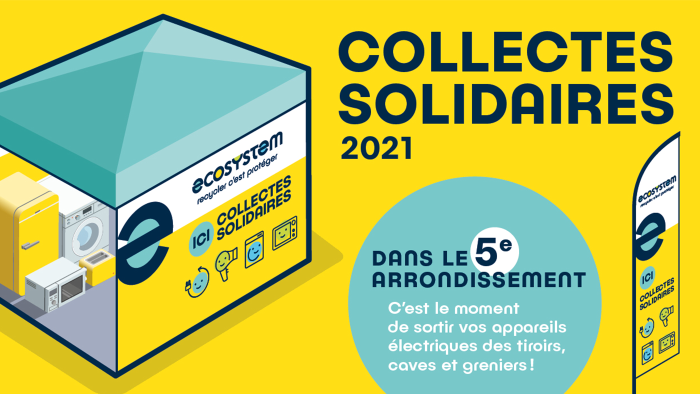 Collecte solidaire ecosystem