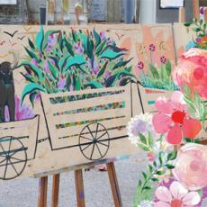 Fresque participative gamut on sème